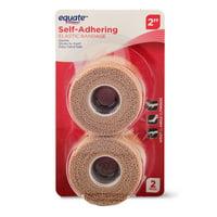 """Equate Self-Adhering 2"""" Elastic Bandages, 2 Count"""