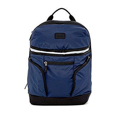 TUMI brady nylon backpack navy blue