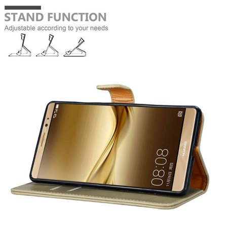 Cadorabo Case for Huawei MATE 8 cover - with Magnetic Closure, Stand Function and Card Slot - image 2 de 5