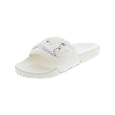 Dr. Scholl'S Women's Og Poolslide White Nylon Sandal - 9M