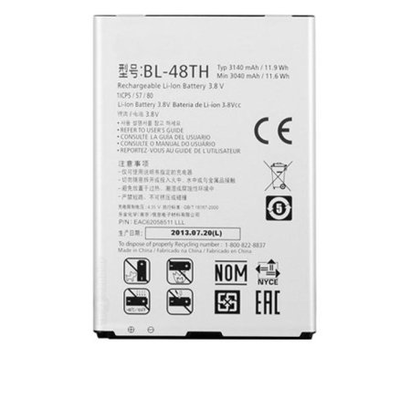 Replacement Generic Battery for LG Optimus G Pro E980, Optimus G Pro E940, Optimus G E977, LG F-240K, LG F-240S (BL-48TH) ()