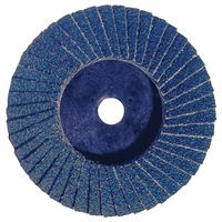 Bobcat Flat Style Flap Discs, 3 in, 60 Grit, 20,000 rpm, Sold As 1 Each by