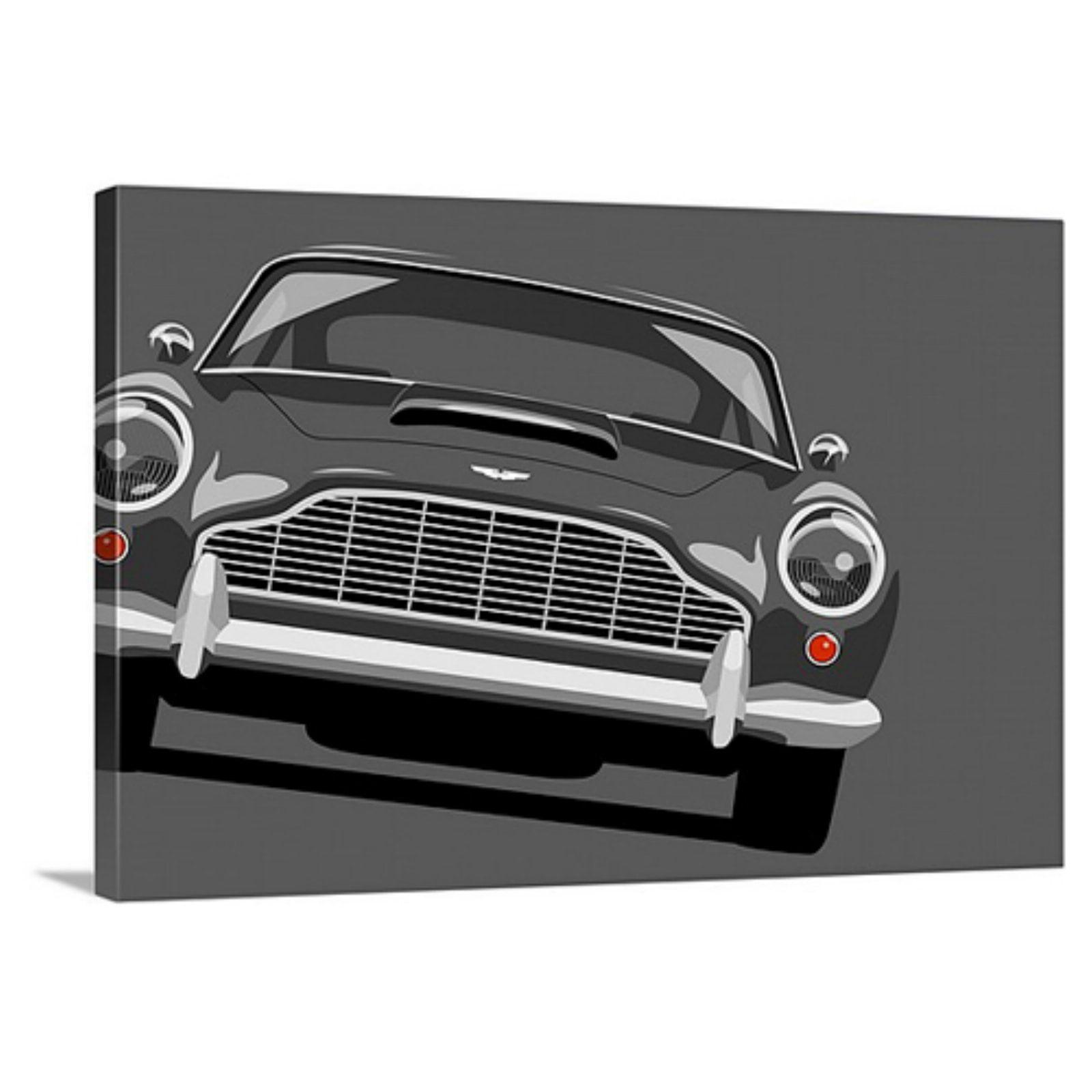 great big canvas aston martin db5 print wall art - walmart