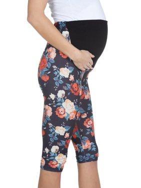 b004128dde9bc Product Image Womens Maternity Digital Print Leggings Tights