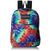 """Backpack - Jansport Superbreak - Red Hippie Days 16"""" New 906699"""