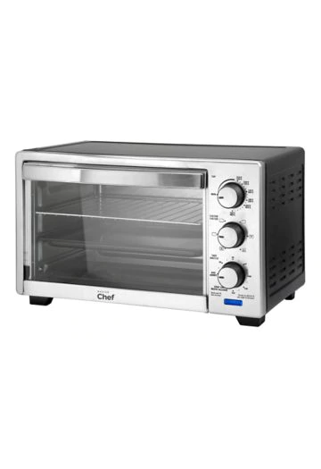 Master Chef Convection Stainless Steel Toaster Oven 6