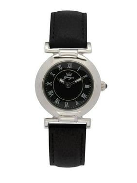 71ce2d83a64 Product Image Yonger   Bresson Women s DCC 1483 34 Black Leather Roman  Numeral Wristwatch