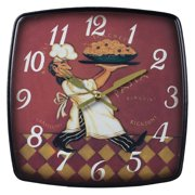 Elk Lighting Busy Chef Kitchen 9 in. Wall Clock