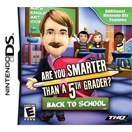 Are You Smarter Than a 5th Grader: Back to School - Nintendo DS, Test your knowledge with 6,000 challenging questions. Can you reach the Million.., By THQ](Halloween Art For 5th Graders)