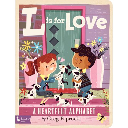 L Is for Love: A Heartfelt Alphabet (Board Book)