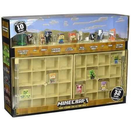 FFL00 Minecraft Collector Case & 10 Mini Figures