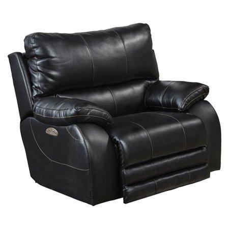 Stupendous Catnapper Sheridan Power Headrest W Lumbar Lay Flat Recliner In Black Short Links Chair Design For Home Short Linksinfo