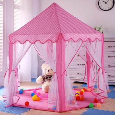 Princess Melody S Play Castle Pink Pop Up Tent By Imagination Generation
