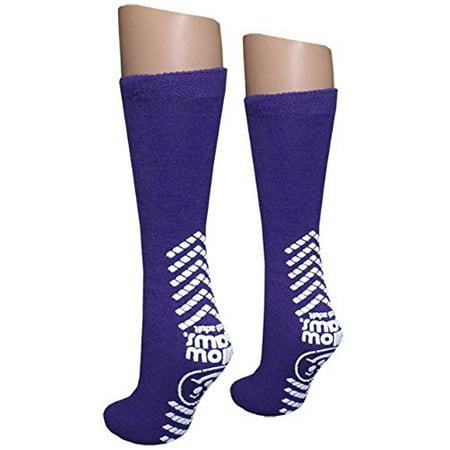 Ladies Purple Slipper Socks - Tred Mates - XL