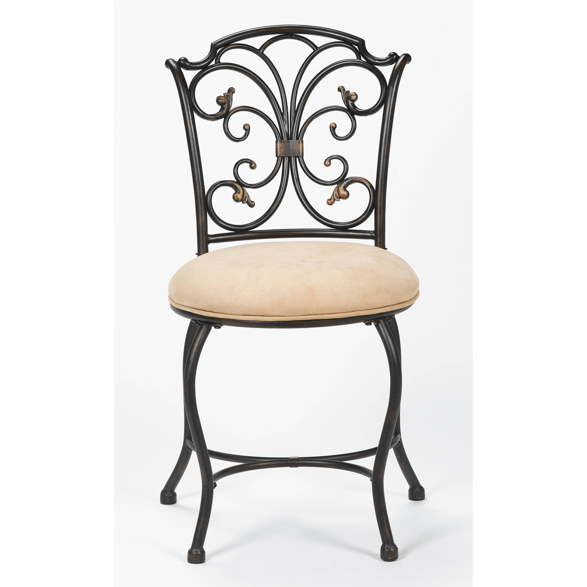 upholstered your bathroom for decor wooden stool elegant bedroom idea vanity stools round modern white chair designs tufted