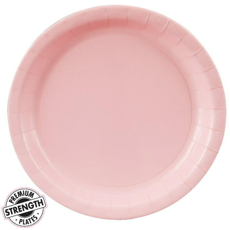 Dinner Plate - Pink (24 Count) - Pink Plates