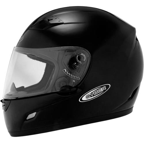 Cyber US-39 Solid Helmet Black MD