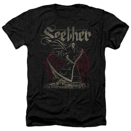 Trevco Sportswear BAND402-HA-2 Seether & Reaper-Adult Heather T-Shirt, Black - Medium - image 1 of 1