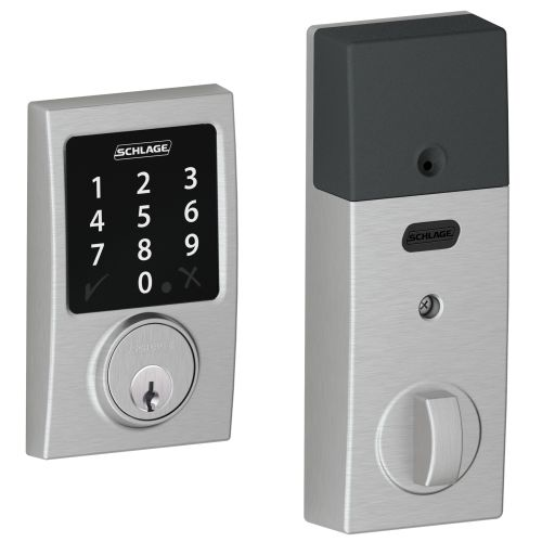 Schlage BE468-CEN Connect Century Touchscreen Deadbolt with Z-Wave Technology