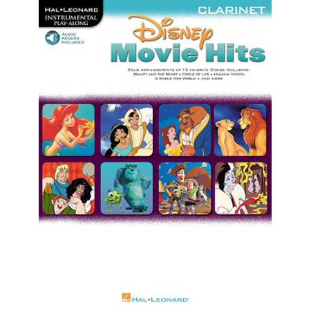 Disney Movie Hits for Clarinet : Play Along with a Full Symphony Orchestra!