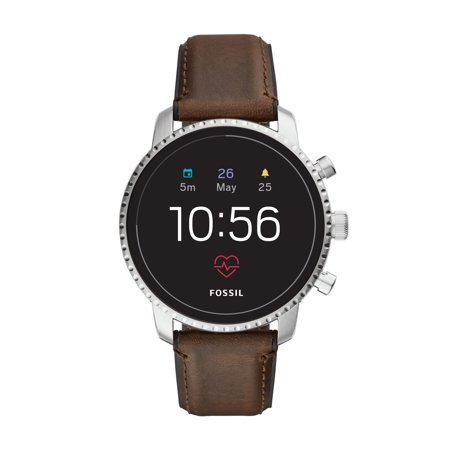 Fossil Gen 4 Explorist HR Men's Smartwatch - Brown Leather - Powered with Wear OS by