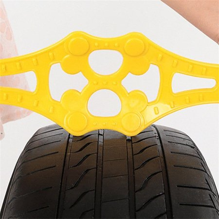 1PC Universal Outdoor Vehicle Anti-skid Tyre Chain For Snow Mud Sandy Road - image 6 of 8