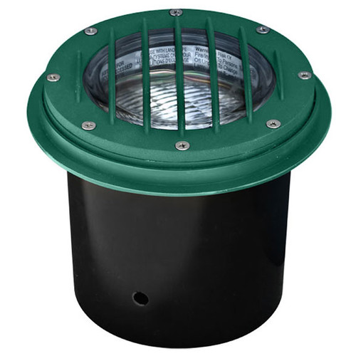 12 Volt Cast Aluminum Inground Well Light with Grill