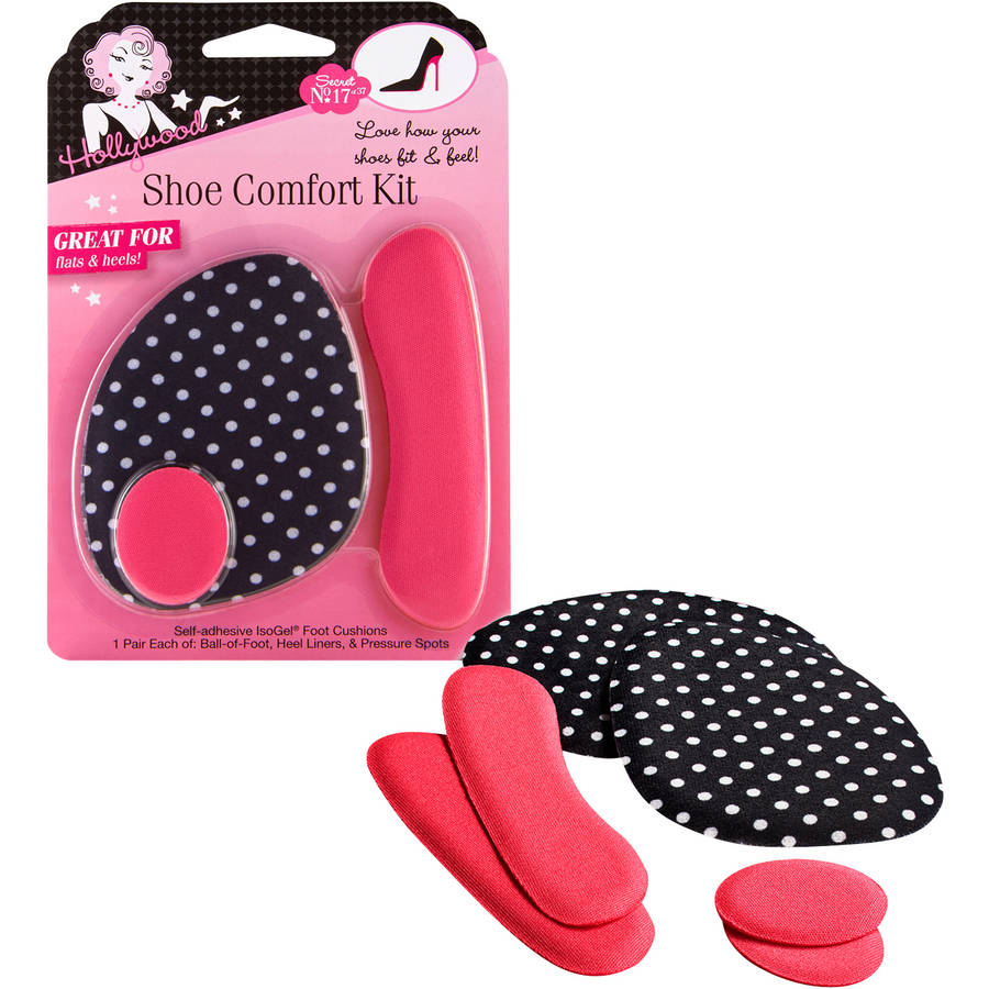 Hollywood Fashion Secrets Shoe Comfort Kit, 3 pc