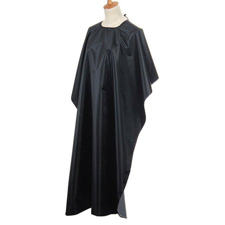 Pro Black Salon Hair Cut Hairdressing Hairdresser Barbers Cape Gown Adult Cloth - image 5 of 5