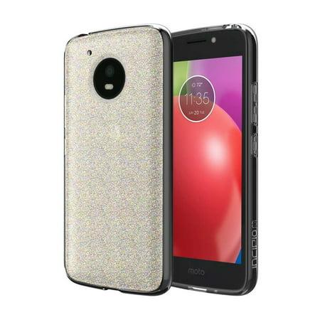 timeless design 89b06 a6bb9 Incipio Multi-Glitter Motorola Moto E4 Case [Design Series Classic] for  Motorola Moto E4 -