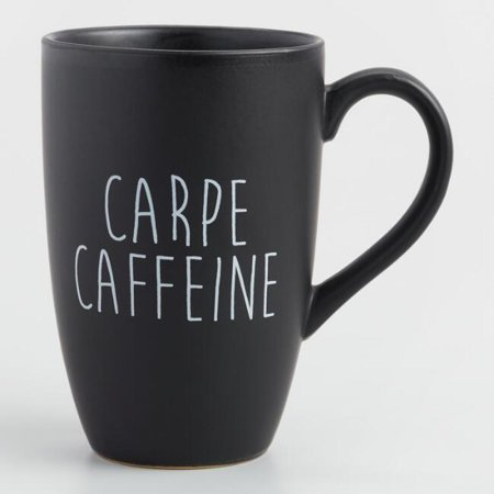 Carpe Caffeine Coffee Tea Mug -