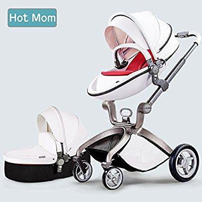 hot mom baby stroller 2017, 3 in 1 function travel system baby carriage and bassinet combo (Best Baby Car Seat And Stroller 2017)