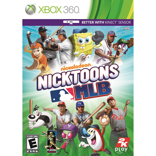 Image of Nicktoons MLB - Kinect compatible (Xbox 360)