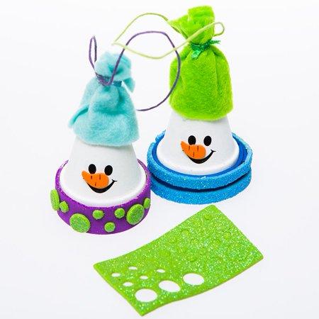 Flower Pot Snowman Craft Kits - Snowman Kit
