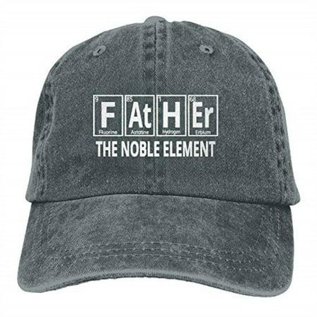 0c7e3713 Father The Noble Element Vintage Washed Baseball Cap Dad Hat Sports Hat -  Walmart.com