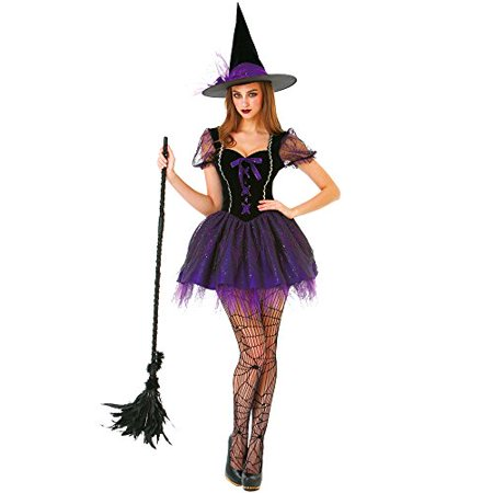Boo! Inc. Wicked Witch Women's Halloween Costume Sexy Spellcaster Classic Dress