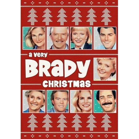 Brady Bunch Christmas Card.A Very Brady Christmas Dvd
