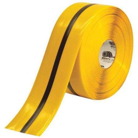 Yellow Black Floor Marking Tape Shieldmark 4RYBLKCTR4 W Walmart
