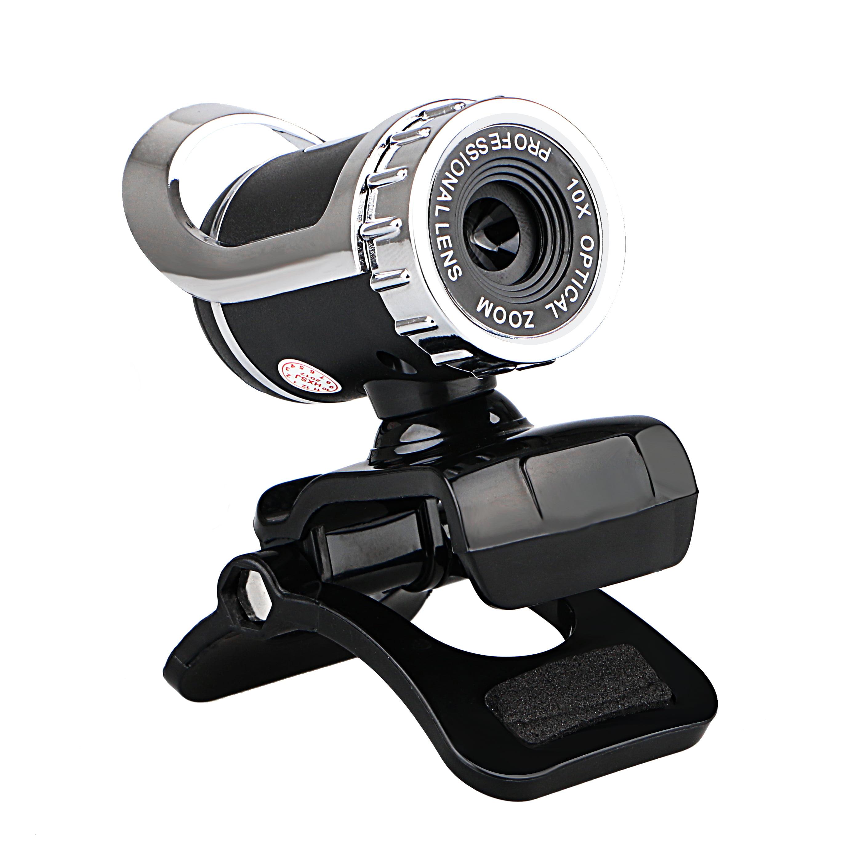 EEEKit HD Webcam, 12.0 Megapixels USB 2.0 1080P Clip-on Digital Video HD Web Camera for Desktop PC Laptop Skype with Built-in Sound Absorption Microphone