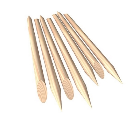 Dynarex Manicure Stick - 4897CS - 7200 Each / Case