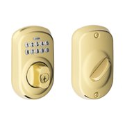 SCHLAGE BE365PLY505 Plymouth Electronic Keypad Deadbolt C KW