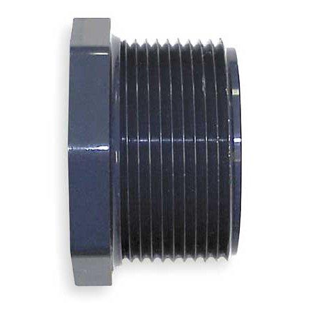 "Gf Piping Systems 2"" MNPT x 3/4"" FNPT PVC Reducing Bushing, 839-248"