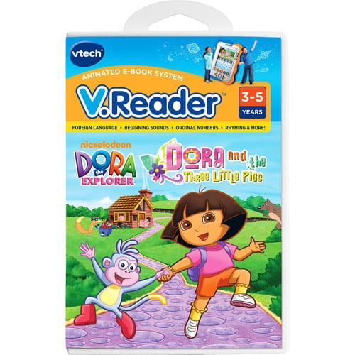 VTech V.Reader Animated E-Book System Book, Dora by VTech Holdings, Ltd