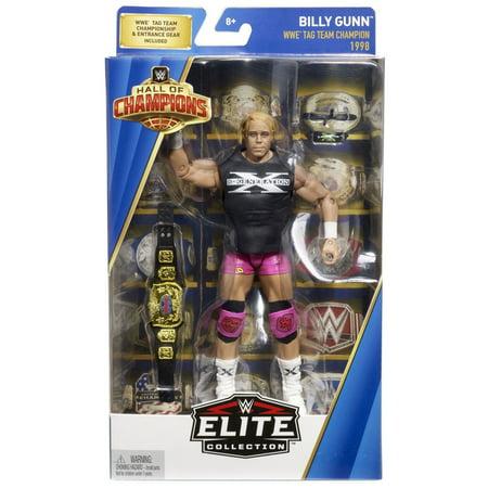 WWE Wrestling Hall of Champions Billy Gunn Action - Womens Wwe Champion