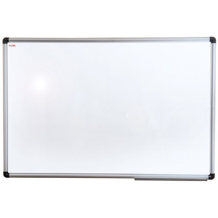 Viztex | Lacquered Steel Magnetic Dry Erase Board | Aluminium Frame | Size 36