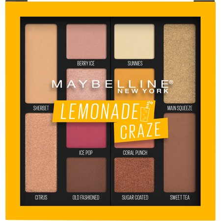 Maybelline Lemonade Palette 100 Lemonade Craze - 0.26oz