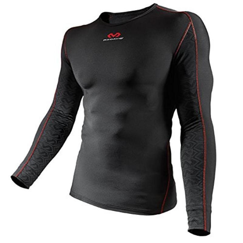 McDavid Mtek2 Recovery Shirt, 3X-Large, Scarlet/Black