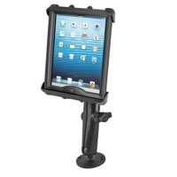 """Flat Surface Long Arm Drill Down Mount fits 10"""" Tablets Apple iPad 1 2 3 & 4"""