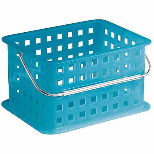 InterDesign Spa Basket, Small, Azure