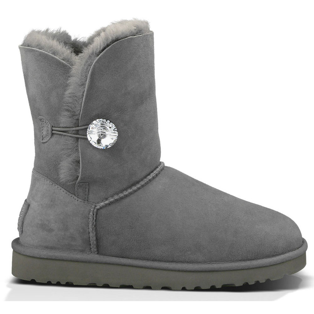 UGG Australia Womens Bailey Button Bling